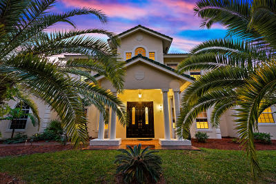 West Palm Beach Single Family Home For Sale: 7075 Pioneer Lakes Circle