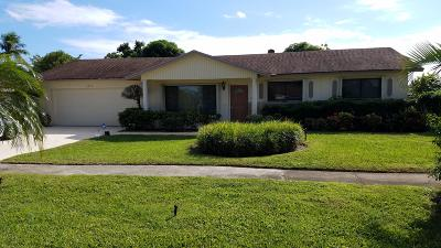 Delray Beach Single Family Home Contingent: 2888 Dolphin Drive