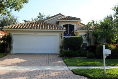 Boynton Beach Single Family Home For Sale: 5138 Polly Park Lane