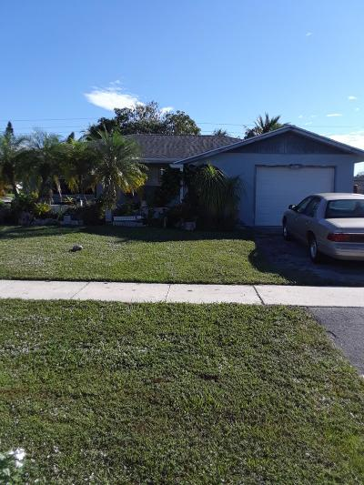 Royal Palm Beach Single Family Home For Sale: 868 Lilac Drive