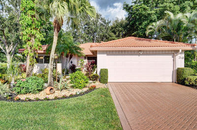 Boynton Beach Single Family Home For Sale: 36 Estate Drive