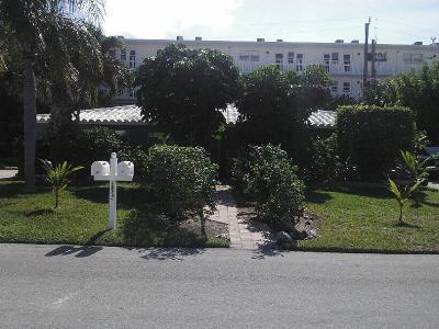 Pompano Beach Rental For Rent: 3208 NE 8 Court #1-2