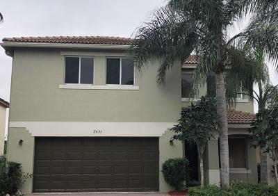 Riviera Beach Single Family Home For Sale: 2031 Little Torch Street