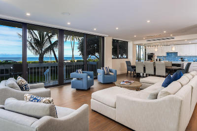 Palm Beach Condo For Sale: 330 S Ocean Boulevard #D-1