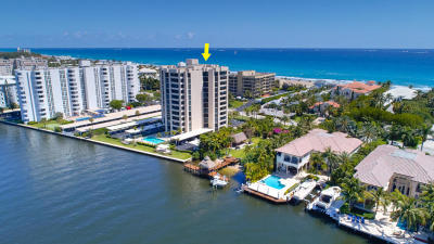 Court Of Delray Condo Condo For Sale: 2220 S Ocean Boulevard #502