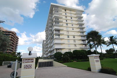Juno Beach Condo For Sale: 500 Ocean Drive #W-10a