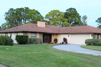 Fort Pierce Single Family Home Contingent: 4700 Eagle Drive