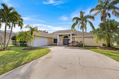 Tequesta Single Family Home For Sale: 10840 SE SEminole Terrace