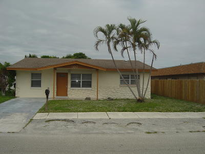 Delray Beach Single Family Home Contingent: 507 SW 6th Street