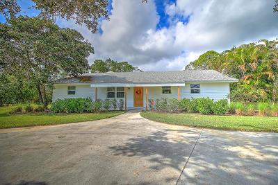 Jupiter Single Family Home For Sale: 17655 Alexander Run