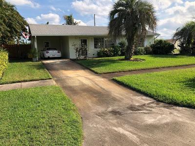Palm Beach Gardens Single Family Home For Sale: 12164 Colony Avenue