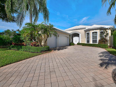 Palm Beach Gardens Single Family Home For Sale: 1149 Crystal Drive