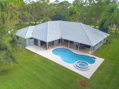 Jupiter Single Family Home For Sale: 12189 185th Street