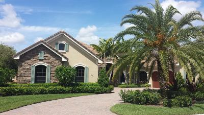 Hobe Sound Single Family Home For Sale: 10024 SE Sandpine Lane