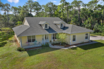 Jupiter Single Family Home For Sale: 11454 162nd Place