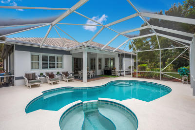 Palm City Single Family Home Contingent: 2845 SW Turtle Point