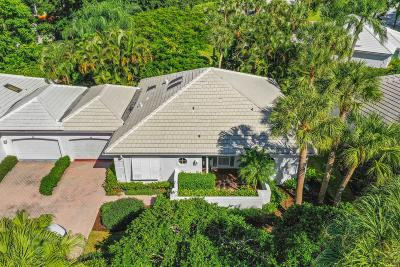 Jupiter Single Family Home For Sale: 2902 Captains Way