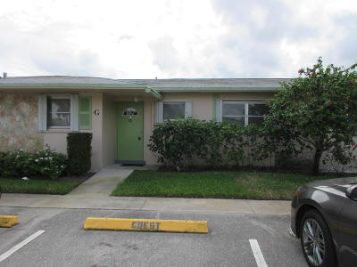 West Palm Beach FL Single Family Home For Sale: $67,000
