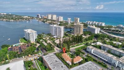 Boca Raton Condo For Sale: 770 E Camino Real #7