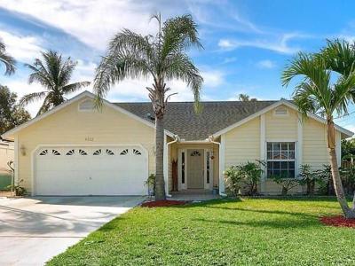 Jupiter Single Family Home For Sale: 6322 Drake Street