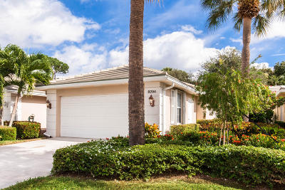 Palm Beach Gardens Single Family Home Contingent: 8294 Old Forest Road