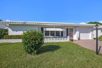 Tamarac Single Family Home For Sale: 7505 NW 70th Terrace