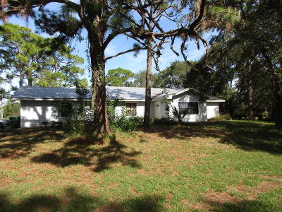 Fort Pierce Single Family Home Contingent: 5250 Indrio Rd Road