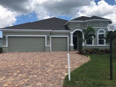 Port Saint Lucie Single Family Home For Sale: 333 SW Vista Lake Drive