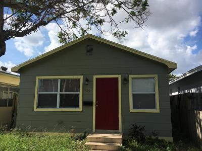Lake Worth Single Family Home For Sale: 429 F Street