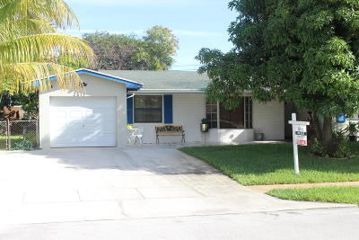 Delray Beach Single Family Home For Sale: 1311 SW 22nd Avenue