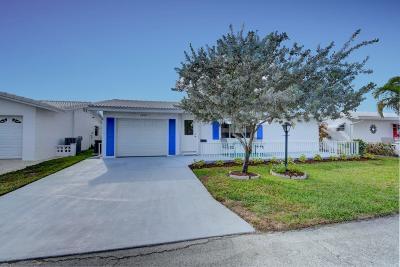 Boynton Beach Single Family Home For Sale: 1506 Alfred Drive