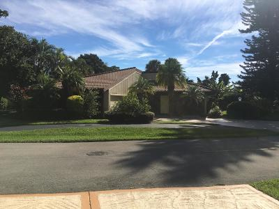 Palm Beach Gardens Single Family Home For Sale: 13785 Sand Crane Drive