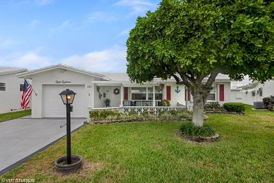 Boynton Beach Single Family Home For Sale: 818 SW 18th Court