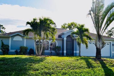 Port Saint Lucie Single Family Home Contingent: 2882 SE Pace Drive