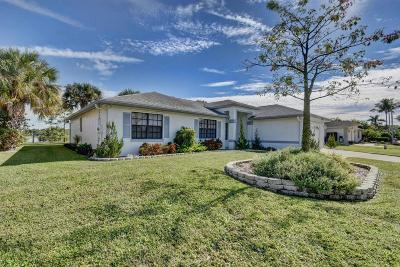 Royal Palm Beach Single Family Home Contingent: 103 Meadow Woode Drive
