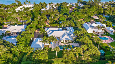 Hobe Sound Single Family Home For Sale: 240 S Beach Road