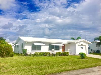 Boynton Beach Single Family Home For Sale: 1901 SW 22nd Way