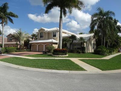 Boca Raton Single Family Home For Sale: 19520 Preserve Drive