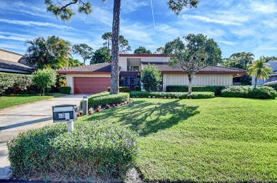 Delray Beach Single Family Home Contingent: 809 Foxpointe Circle