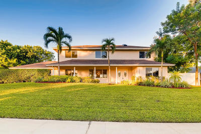 Delray Beach Single Family Home For Sale: 3557 Lakeview. Drive