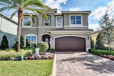 Delray Beach Single Family Home For Sale: 9676 Sterling Shores Street