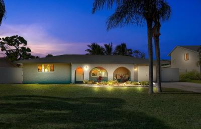 Lake Worth Single Family Home For Sale: 6719 Eastview Drive
