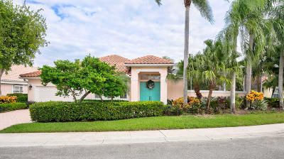 Palm Beach Gardens Single Family Home For Sale: 521 Eagleton Cove Trace
