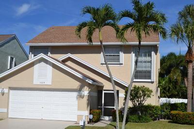 Boynton Beach Single Family Home For Sale: 1064 Fairfax Circle W