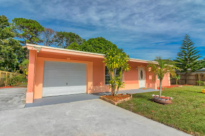 Fort Pierce Single Family Home For Sale: 1504 Yosemite Court