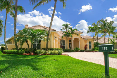 Palm Beach Gardens Single Family Home Contingent: 125 Brookhaven Court