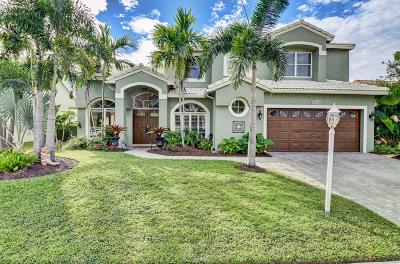 Boca Raton Single Family Home For Sale: 9372 Lake Serena Drive