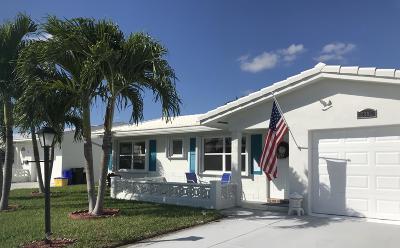 Boynton Beach Single Family Home For Sale: 2393 SW 9th Avenue