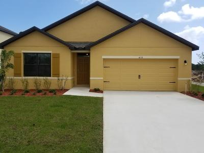 Port Saint Lucie Single Family Home For Sale: 6110 NW Regent Street