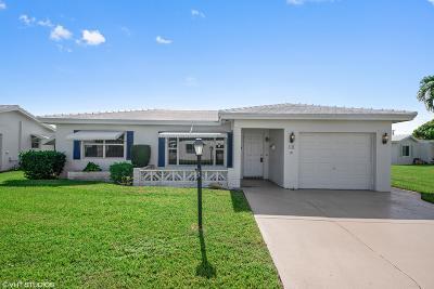 Boynton Beach Single Family Home For Sale: 1106 Ocean Avenue